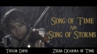 song_of_time_and_song_of_storms_zelda_oot_violin_-_taylor_davis